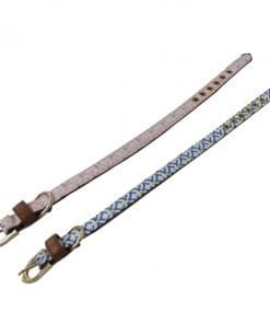 Collar With Pink Or Blue Pattern - pawsandtails.pet