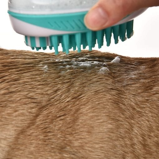 Grooming Massage Shampoo Brush - pawsandtails.pet