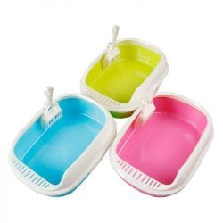 Litter Tray With Scoop - pawsandtails.pet
