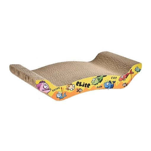 Corrugated Scratching Board – Wave - pawsandtails.pet