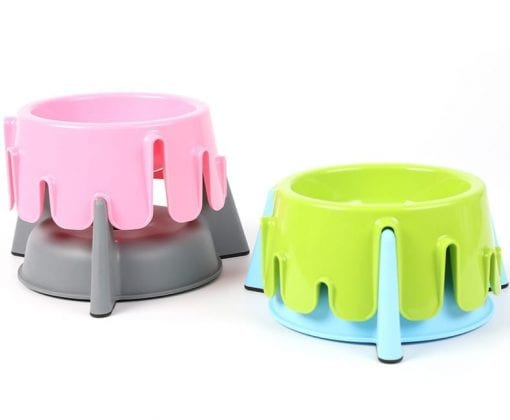 Adjustable Height Pet Food Bowl – 4 Height Options - pawsandtails.pet