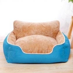 Soft Colourful Breathable Pet Bed - pawsandtails.pet